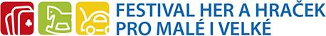 Logo akce Festival her pro malé a velké